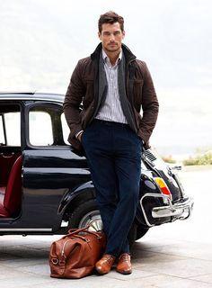 David Gandy.  Truly a man of style!