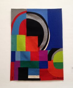 Sonia Delaunay, La courbe grise, 1970-72, wool