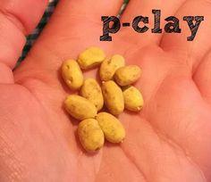 Potatoes (mniature polymer clay 1:12). Patatas (miniatura en arcilla polimerica 1:12).