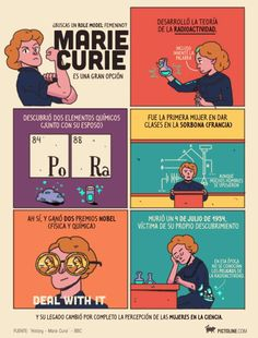 Marie Curie, Science Facts, Fun Facts, Curious Facts, Cultura General, Girl Empowerment, Thinking Day, Study Motivation, Study Tips