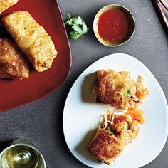 Pan-Fried Egg Rolls | CookingLight.com