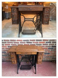 1000 images about repurposed vintage sewing machines on pinterest old sewing tables old - Four ways to repurpose an old sewing machine ...