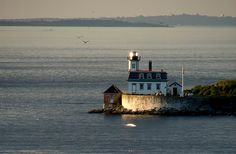 Rose Island,Rhode Island across the water from the Chapel by the Sea where my parents were married in 1942 We stayed in the lighthouse.