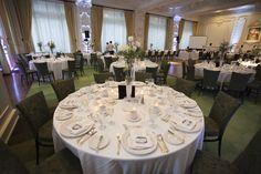 Ballroom wedding, ballroom decor, city wedding, Flowers 'N Things, Click Photo Co.
