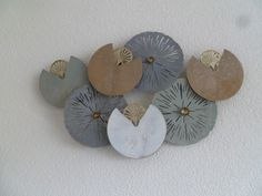 Wanddecoratie geheel van metaal Manon - ABSTRACT - DEKOGIFTS Coins, Personalized Items, Abstract, Summary, Rooms
