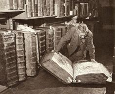 Giant manuscripts of the Prague Castle. 1960's.