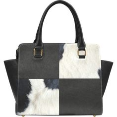 Cow Print Leather Collage Classic Shoulder Handbag (Model 1653) ($44) ❤ liked on Polyvore featuring bags, handbags, shoulder bags, pocket book, purses, white leather purse, hand bags, animal print shoulder bag, shoulder handbags and animal print handbags