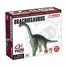 Tyrannosaurus Rex Dinosaur Dino Part V 4D 3D Puzzle Egg Model Kit Toy