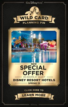 Save on a Walt Disney World Resort stay this spring!