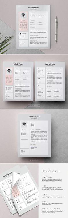 Professional Style Resume Set V1