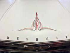 #pinstriping #hotrod #ratrod #oldschool #chevy #impala