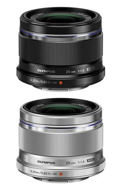 Olympus M.Zuiko Digital 25mm F1.8 Lens Silver @ 31 % Off. Order Now!!!!