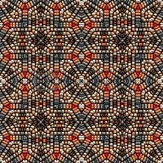 Native American Beadwork  stunning! I had never considered mixing beading with quilting designs -