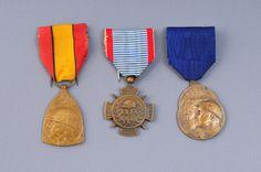 Three French War Medals, France - Europeana 1914-1918 CC-BY-SA