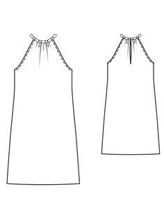 Halter dress (linen)
