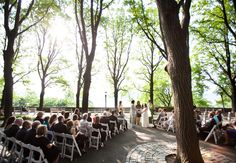 Great Ceremony Ideas! Photo by: Bonnie & Lauren/The Knot #myfauxdiamond #weddings #jewelry Photo by: Allan Zepeda/The Knot