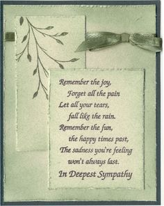 sympathy cards - Google Search