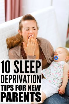 Coping with sleep deprivation is difficult on the best of days, but when you throw in a colicky newborn and the stress and anxiety that comes with being a new parent, it can be extremely overwhelming. The good news is that you WILL find your way back to a good night of sleep again, and in the meantime, these sleep deprivation tips for new parents offer great coping mechanisms to help you with baby sleep so you can get back to some semblance of normalcy.