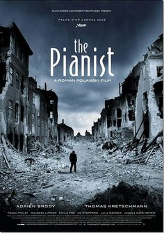The Pianist (2002), a film directed by Roman Polanski & featuring Chopin's nocturne in C sharp minor