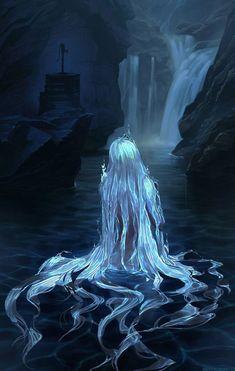 Ideas For Art Drawings Fantasy Goddesses Dark Fantasy Art, Fantasy Artwork, Dark Art, Image Manga, Wow Art, Mythical Creatures, Fantasy Characters, Art Inspo, Art Girl