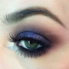 Instagram photo by @makeupchelsea via ink361.com Mac Eyeshadow Looks, Look Into My Eyes, Hair Makeup, Instagram, Party Hairstyles
