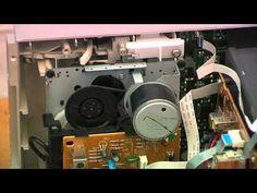 Substitución de las correas y limpieza de los cabezales del vídeo y cassette - YouTube