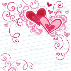 I Love You Doodle | ... _2291858-Sketchy-Back-to-School-Love-Hearts-Notebook-Doodles