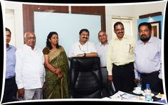 From L to R- Mr. Pradeep Aggrawal, Deputy Regional Chairman, EEPC INDIA(NR), Mr.C.S.Shukla,Former Executive Director,EEPC INDIA,  Mrs. Kamna Raj Aggarwalla, Regional Chairperson, EEPC INDIA(NR),   Mr.Sanjay Chavre, Senior Development Officer, Department of Heavy Industry, Government of India,   Mr.R.P.Jhalani, Former Chairman,EEPC INDIA,   Mr. N .Ramakrishnan, Deputy Secretary, Department of Commerce, Ministry of Commerce and Industry, Government of India & Mr.Bhaskar Sarkar,Executive…
