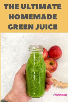 The Ultimate Homemade Green Juice. #smoothie #kidssmoothie #kidssnack #smoothierecipe #healthykidsfood