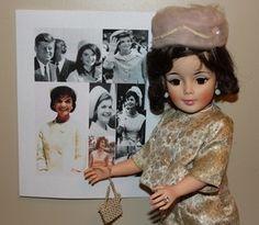 "Jacqueline Kennedy Portrait Doll by Madame Alexander-Vintage 1961-Cissy Body 21"""