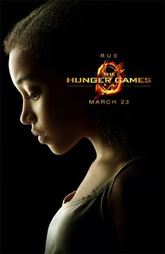 Rue in the Hunger Games is sooo adorable!I almost cried at the end!:(     (I won't say what happened for those of you who haven't read it yet.)