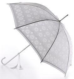 Fulton Umbrella - Eliza Devore Lace White £23.00