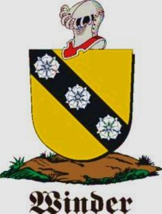 Winder Family Crest / Winder Coat of Arms [Personalized Gifts – Your own Family Crest order now ]