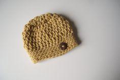 Baby Boy Hat Baby Boy Beanie Newborn Boy Hat by BambinoStore