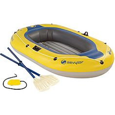 Coleman Caravelle 3-person Inflatable Boat | Overstock.com Shopping - Big Discounts on Coleman Boats & Rafts