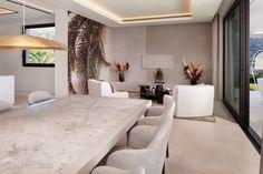New stylish modern luxury villa in Zagaleta, Marbella in Marbella, Spain for sale (10522993) Villas, Beach Villa, Family Kitchen, Swimming Pool Designs, Modern Luxury, Luxury Villa, Luxury Real Estate, Master Suite, Living Area