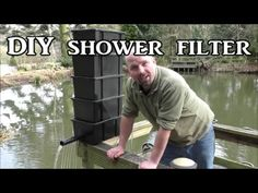 DIY Shower / Trickle Filter for a Koi / Fish Pond - YouTube