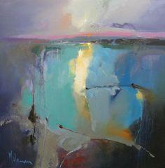 Sea Breeze off Mull by Peter Wileman PROI RSMA EAGMA FRSA