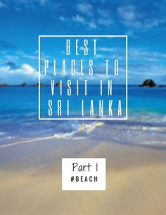 Three best places in Sri Lanka! Perfect for relaxing and enjoying your travel playing with waves while calling your melanin up on your skin.Part 1-Best beaches-Tangalle|Negombo|Hikaduwa|The best places to visit in Sri Lanka-Series- Info and recommendations for the people who out there willing to visit Sri Lanka this year and struggling to find reliable information and recommendations about Sri Lanka in google.Click here to read the post or save for later