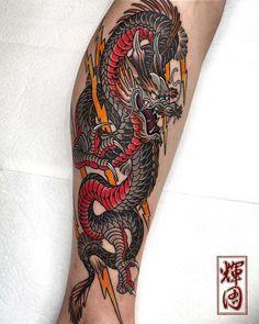 Dragon Tattoo Forearm, Dragon Tattoos For Men, Dragon Sleeve Tattoos, Dragon Tattoo Designs, Tattoos For Guys, Dragon Tattoo Man, Tatoos Men, Small Japanese Tattoo, Japanese Tattoos For Men