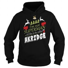 I Love AKRIDGE-the-awesome T shirts