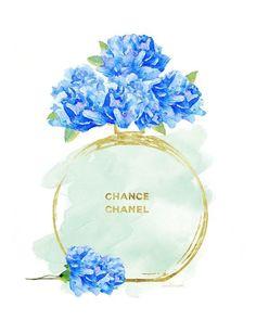 Chance Chanel Illustration