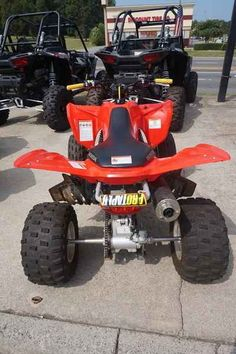 Used 2014 Honda TRX 400X ATVs For Sale in North Carolina. 2014 Honda TRX 400X, Clean Local trade!! Fresh 10 point service has been completed, and she is ready to go! 2014 Honda® TRX®400X This One Was Born Ready. Relentless. Tireless. Tenacious. There are plenty of things you can say about the Honda® TRX®400X, but to fully understand it, you have to experience it. That s because underneath the race-style bodywork lies everything the warrior ATV rider needs, starting with the SOHC, 397cc…