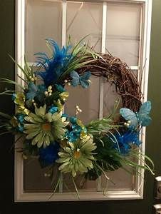 Summer wreath! | Feeling Crafty | Pinterest