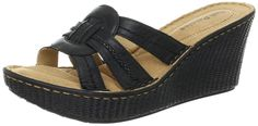 Hush Puppies Women's Danube Slide Wedge Sandal *** Be sure to check out this awesome product.