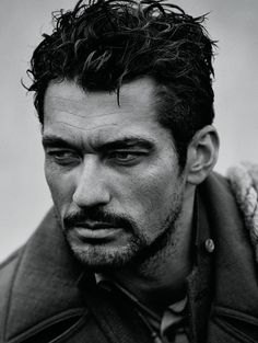 David Gandy Oh My!! His only 'flaw' (?) ...he shaves his chest (or is totally hairless) (not my style) Is it me or is there a theme developing here ..?
