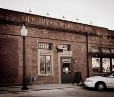 Old Bryan Marketplace in Historic Downtown #Bryan, TX