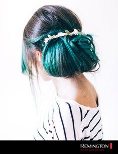 Si tienes el cabello teñido el peinado Maxi Bun realzará tu look con un chongo XXL ¡Pruébalo! 💗👌 Tips, Fashion, Chongos, Dyed Hair, Hair Style, Moda, Advice, La Mode, Fasion