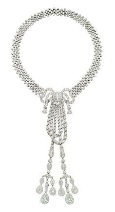 CARTIER Belle Epoque Diamond Necklace, 1911 LILY SAFRA