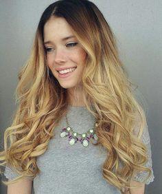 Caramel blonde by Mackenzie
